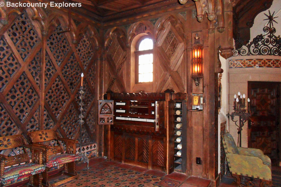Welte Theatre organ used to entertain guests